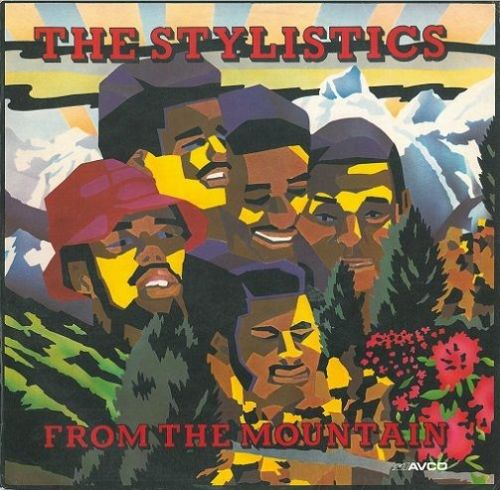 THE STYLISTICS From The Mountain Vinyl Record LP Avco 1974